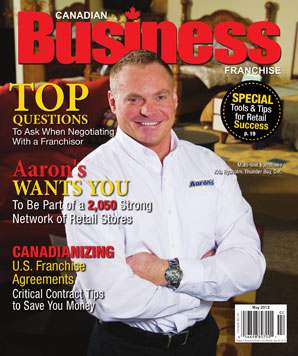 Latest Issue of Canadian Busienss Franchise