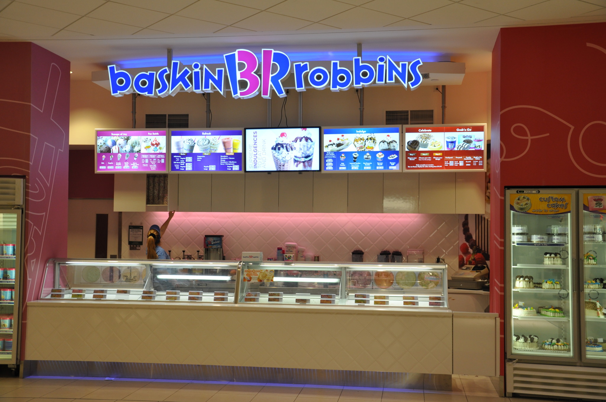 Baskin Robbins Launches New Store Design Canadian