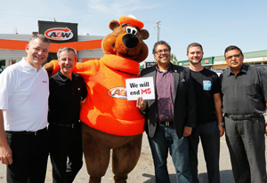 A&W FOOD SERVICES OF CANADA INC. - A&W's Cruisin' for a Cause