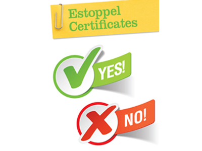 Using estoppel certificates to stimulate communication - Canadian ...