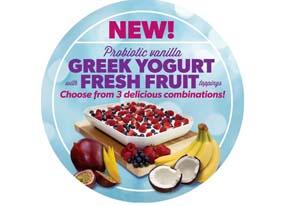 Booster Juice adds Greek yogurt to menu