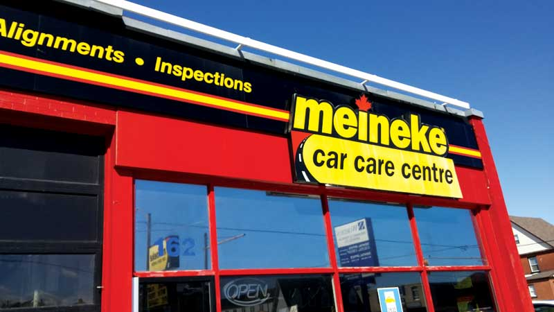 Meineke Oil Change >> Changing gears with Meineke - Canadian Business ...