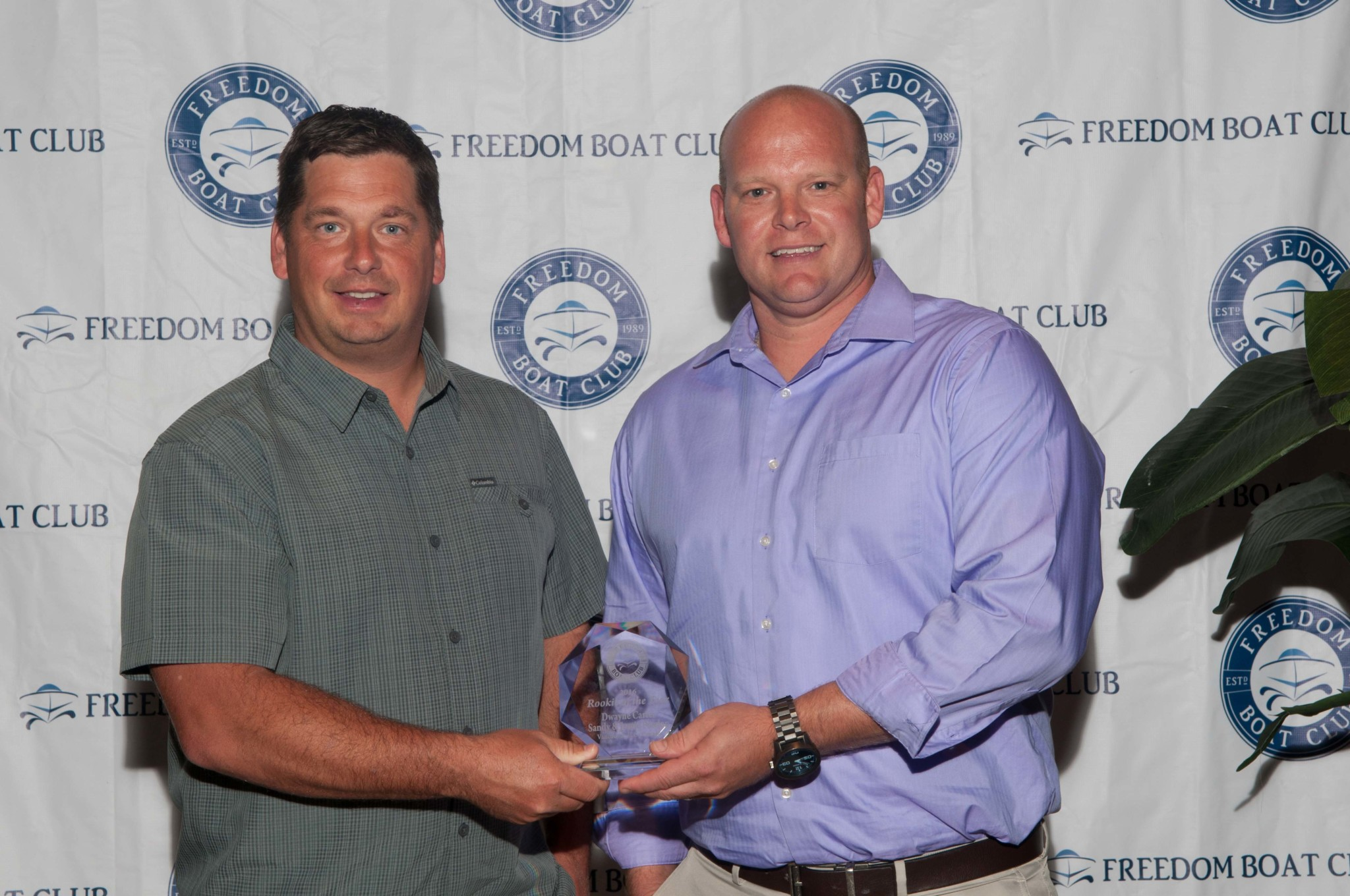 Vancouver Freedom Boat Club franchise wins rookie of the year award