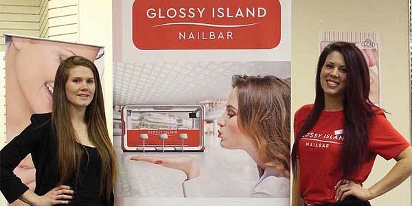 glossy island nailbar