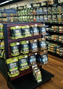 The franchise system specializes in high-nutrition pet foods.