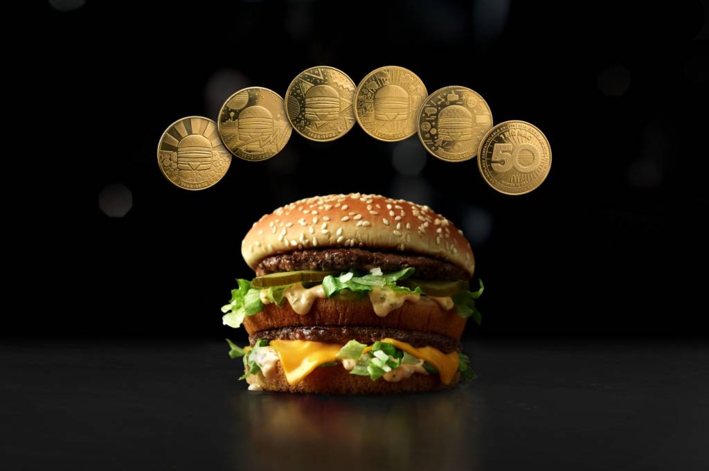 McDonald's Canada will distribute 50,000 MacCoins across the country.
