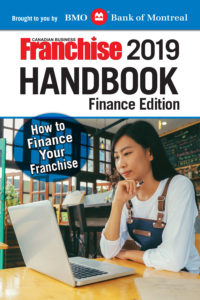 Cover of the Canadian Business Franchise Handbook: Finance Edition