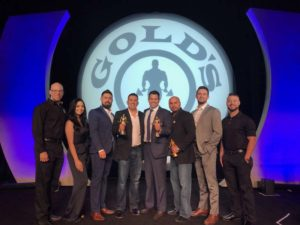 Gold's Gym named the Garcia family of South Texas its franchisee of the year.