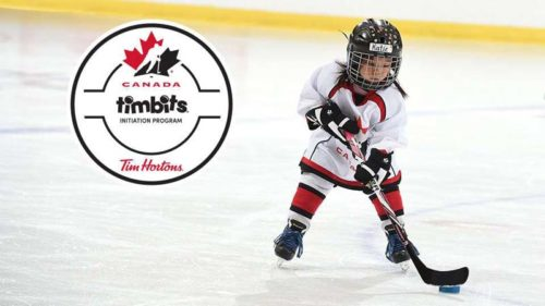 The Tim Hortons Timbits Hockey Canada Initiation Program is designed to introduce young players to the game's basic skills in an atmosphere of fun and fair play.