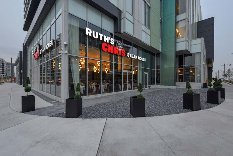 The new Ruth's Chris Steak House franchise in Markham, Ont., is adjacent to the Marriott Markham Hotel.