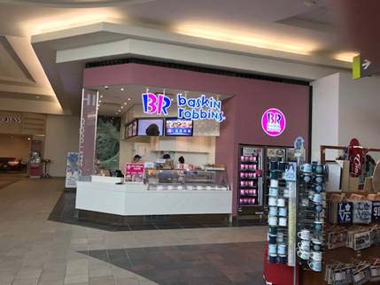 Baskin-Robbins recently celebrated the opening of its 100<sup>th</sup> location in Canada.