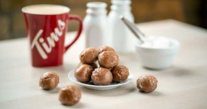 Tim Hortons' new double-double Timbits are available for a limited time.
