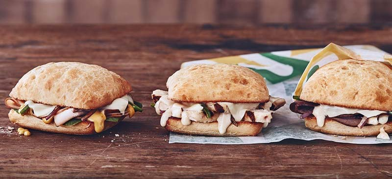 Subway Canada has introduced Mighty Melts, a trio of low-cost sandwiches.