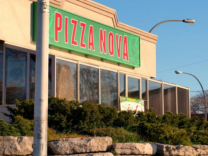 Pizza Nova celebrated the opening of a new restaurant in Etobicoke, Ont., with a fundraiser.