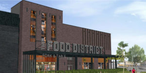 The Food District will house multiple franchises where guests can enjoy and share their food experiences.