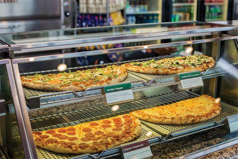 Pizza Pizza prides itself on outstanding service and fresh ingredients.