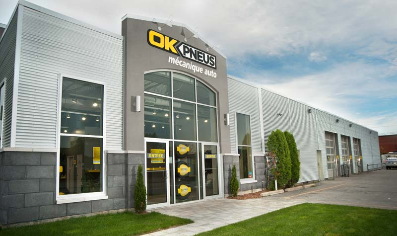 OK Tire is building a $14-million distribution centre in Salaberry-de-Valleyfield, Que.