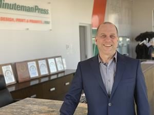 Minuteman Press International Inc.'s franchisee Doug Frederickson is celebrating a 25-year milestone with the brand in Surrey, B.C.