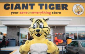 Giant Tiger Stores Ltd., opened a new facility in North Battleford, Sask.