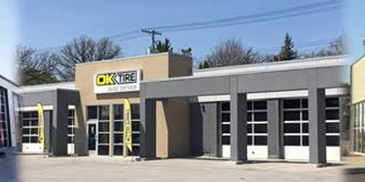 OK Tire will be moving their Manitoba distribution centre to Winnipeg as part of their $100 million five-year expansion plan.