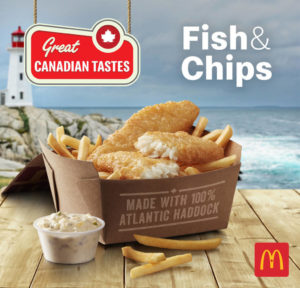 For a limited time, McDonald's will be offering Fish & Chips across Canada.