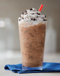 The Oreo infused Ice Capp is one of four menu items offered in the Tim Horton promotion.