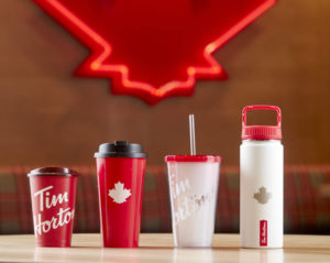 Tim Hortons has unveiled the Tims FreshBrewer and offers commitment to reducing the use of single-use cups.