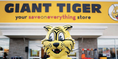 Giant Tiger opened a new facility in London, Ont.