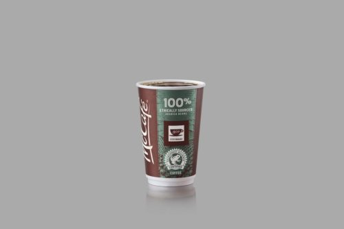 McDonald's Canada will partner with Rainforest Alliance to serve McCafe coffee.