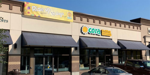 Food-franchise system Cora Breakfast and Lunch will unveil its 11th location in British Columbia.
