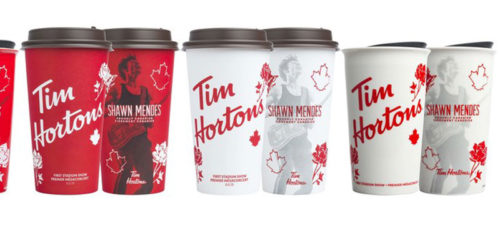 Tim Hortons has partnered with Shawn Mendes for a Home Where Heart Is campaign.