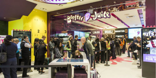 Food-service franchise system Booster Juice wins Food and Beverage (FAB) Award.
