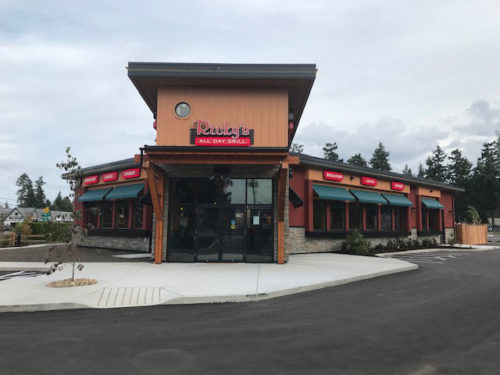 A new Ricky's Family-Style Restaurant has opened in Parksville, B.C., next to the Arbutus Grove Motel.