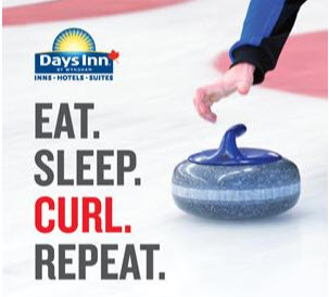 Days Inns Canada has announced a partnership deal with Curling Canada for its upcoming curling season.