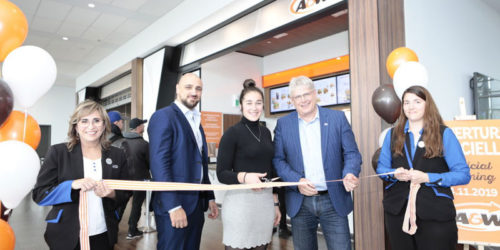 Quebec City Jean Lesage International Airport (YQB) has announced the opening of an A&W restaurant.