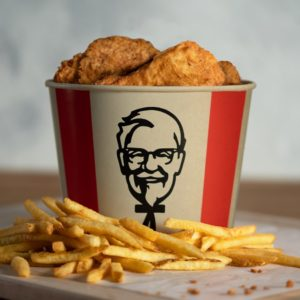 KFC Canada will be introducing a bamboo fibre poutine bucket early next year.