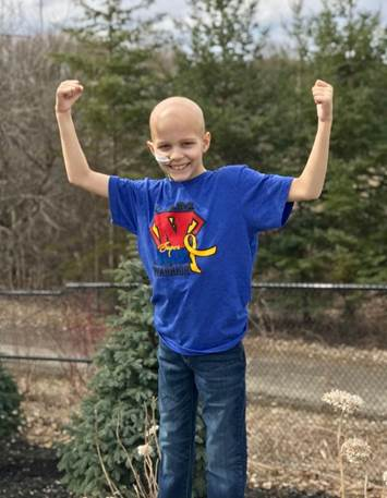 """Noah, from Newmarket, Ont., will partake in a three-minute shopping spree at Toys """"R"""" Us."""