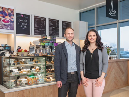 Good Earth Coffeehouse (Good Earth) co-franchisees Joel and Chelsey Wilde have opened their second location in Saskatoon, inside Jim Pattison Children's Hospital in Saskatoon.