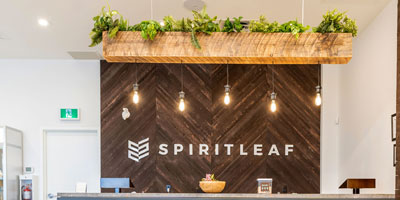 Canadian recreational cannabis franchise system Spiritleaf has opened new stores in Sherwood Park and Spruce Grove, Alta.