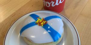 Tim Hortons has launched a Nova Scotia Strong donut across Canada, with 100 per cent of proceeds supporting the Canadian Red Cross Stronger Together Nova Scotia Fund.