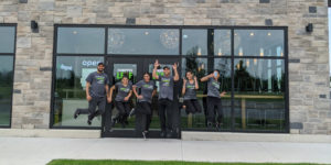 The team at the St. Catharines location of The Chopped Leaf was excited to open on June 22.