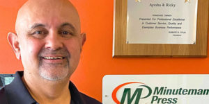 Fourteen years ago, Riaz Qazi transferred from another industry on another continent into Minuteman Press franchise ownership in Canada. Minuteman Press has remained open during COVID-19 as an essential business and is here to help other businesses rebuild local and follow social distancing guidelines as they reopen.