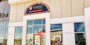 The Famoso Pronto, and the 31st location for the Famoso Italian Pizzeria + Bar chain, opened north of the Premium Outlet Collection Edmonton International Airport (EIA).