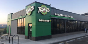 Triple O's has opened its first location in Calgary, Alta., offering drive-thru and dine-in options.