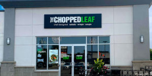 The Chopped Leaf has opened its newest location in London, Ont. at 1041Wellingston Rd.