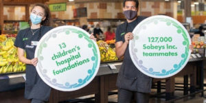 Sobeys Inc. and the Sobeys Foundation are teaming with Canadian Children's Hospital Foundations to create the 'A Family of Support' initiative. It will support children's mental health programs at 13 hospitals.