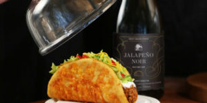 The Toasted Cheesy Chalupa and limited-edition Jalapeño Noir wine are now available from Taco Bell Canada.