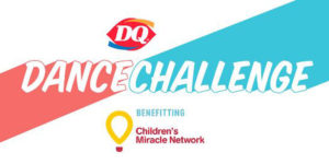 Between October 5 and October 11, Dairy Queen challenged Canadians to take the DQ Dance Challenge in support of Children's Miracle Network. For every video shared on Instagram and Facebook, Dairy Queen donated $1 up to a $25,000.