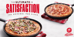 In celebration of the 40th anniversary of its Pan Pizza, Pizza Hut has proclaimed October as Global Pizza Month.