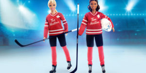 Ahead of the 2020-21 season, NHL Trading Cards have returned to Tim Hortons. The company has also launched Barbie Hockey doll.